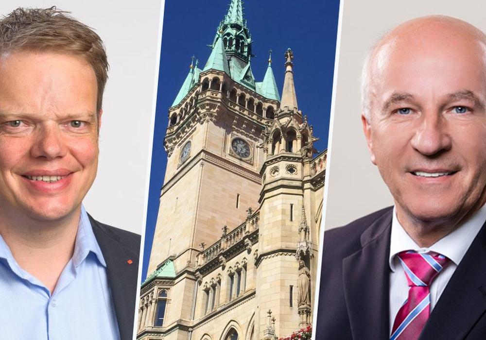 Christoph Bratmann (SPD) und Klaus Wendroth (CDU) ziehen an einem Strang. Fotos: SPD/Braumann/Küssner