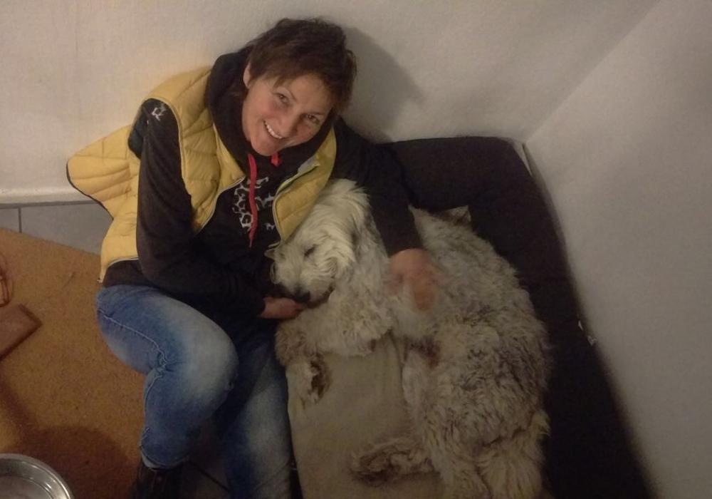 Caroline Wenk und ihr Mio. Foto: privat