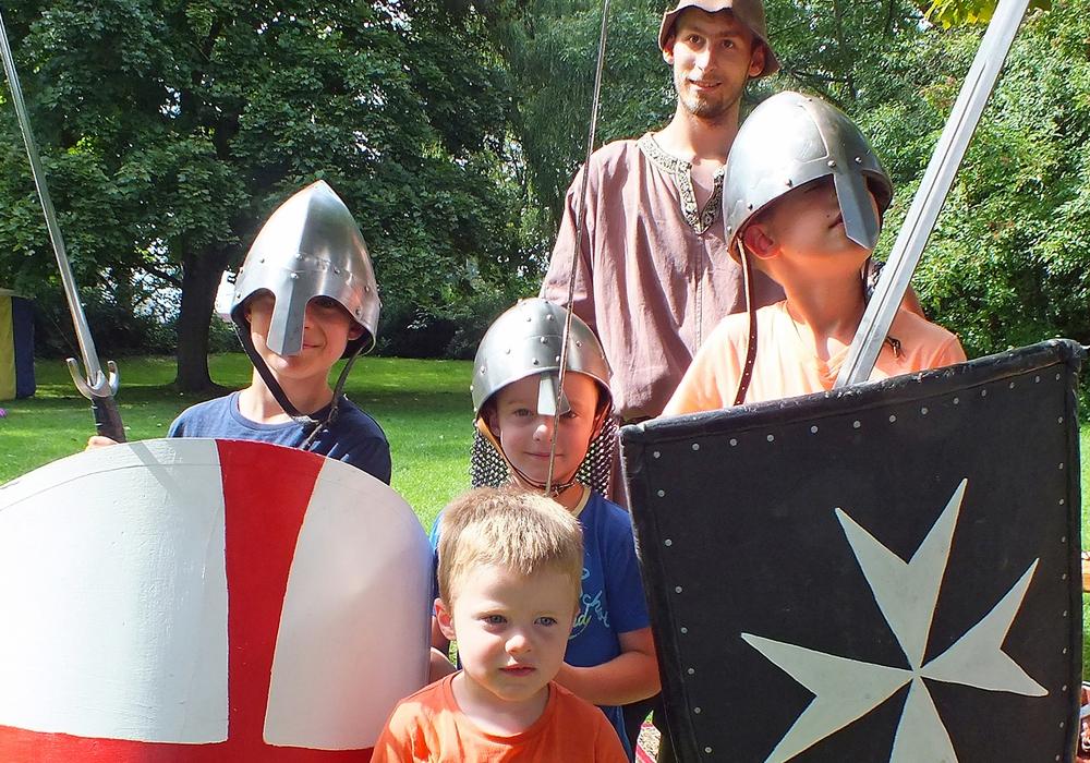 In den letzten 15 Jahren wurden insgesamt 698 Kinder zum Ritter geschlagen. Fotos: Achim Klaffehn