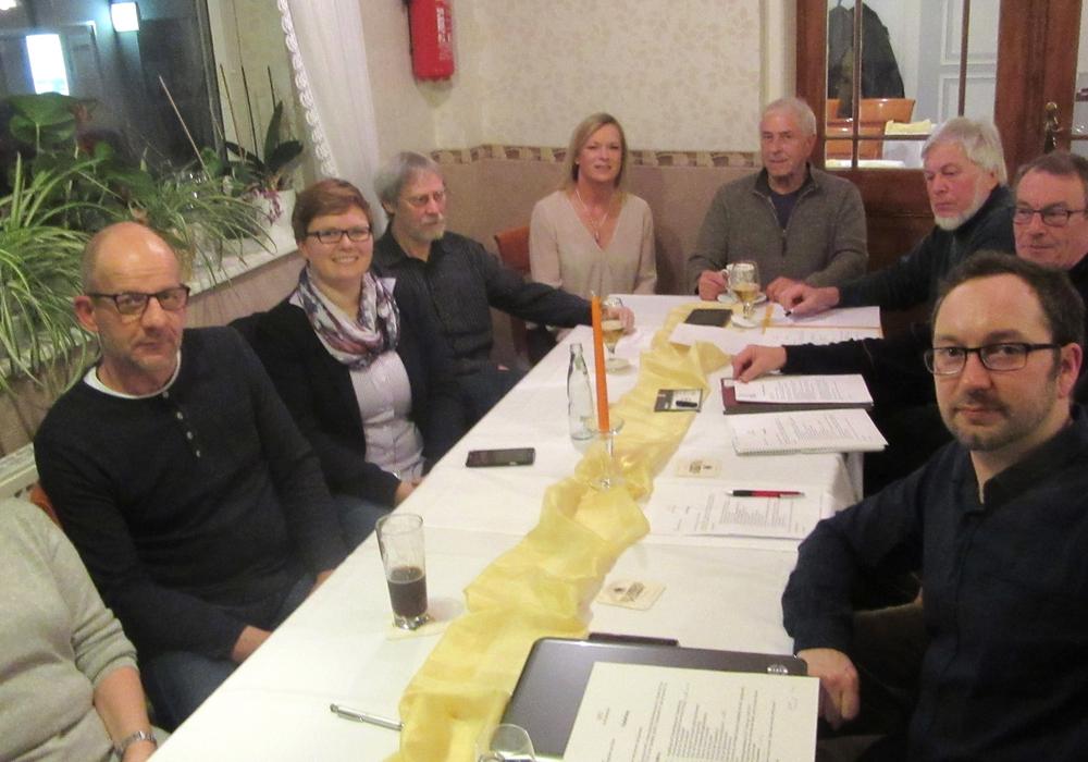 Der SPD Ortsverein Groß Stöckheim. Foto: privat