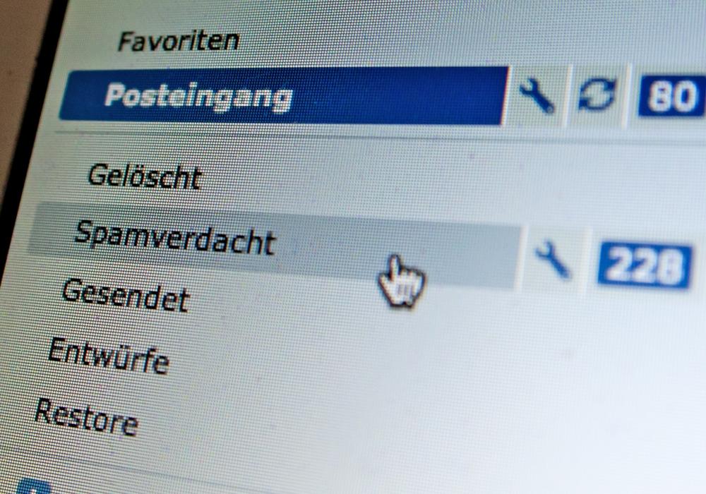 Die Stadtwerke Wolfenbüttel warnen vor Spam-Mail mit möglicherweise schädlichem Anhang. Symbolfoto: Archiv/Alec Pein