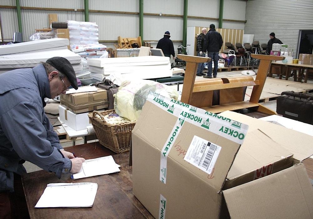 Für Wolfenbüttels rumänische Partnerstadt Satu Mare werden regelmäßig Hilfsgüter gesammelt. Foto: Archiv/Werner Heise