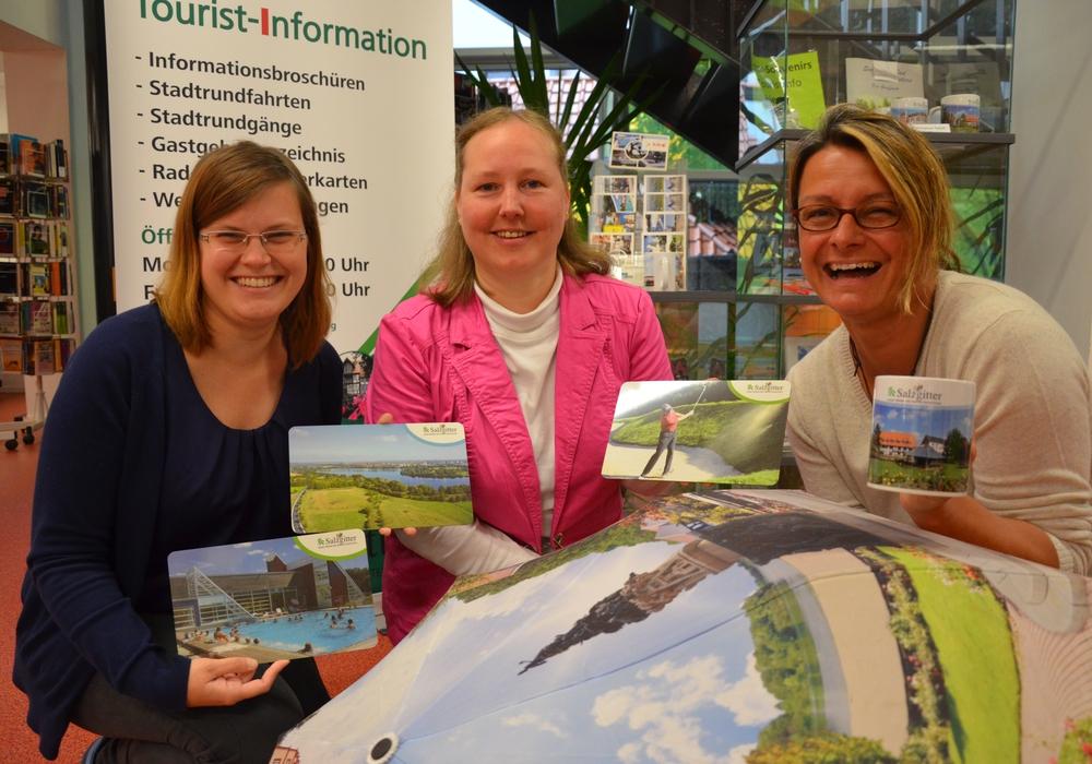 Anne Süßkraut (von links), Daniela Happ, Nicole Lüdicke. Foto: WIS Salzgitter GmbH