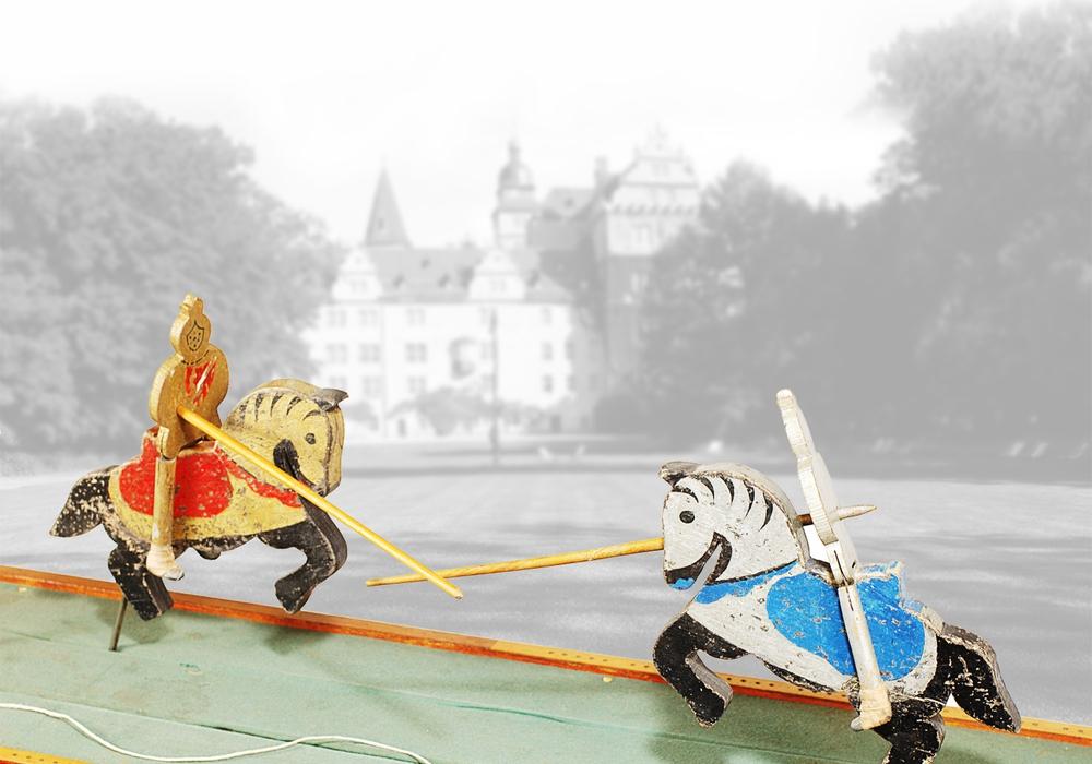 Auf dem Weg zur Holzspielzeug-Schau Foto: Schulz-Wahle