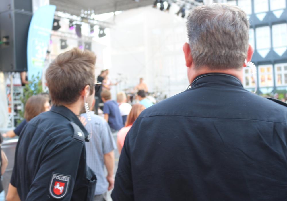 Das Altstadtfest war auch aus Sicht der Polizei ein Erfolg. Foto: Anke Donner