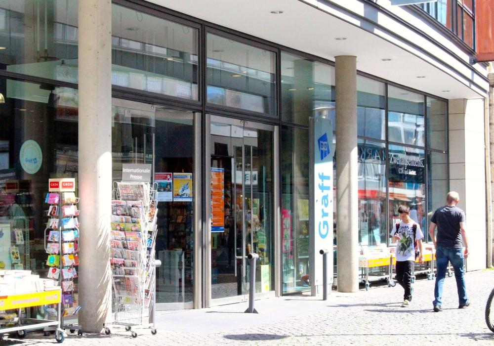 Die Buchhandlung Graff in Braunschweig. (Archivbild)