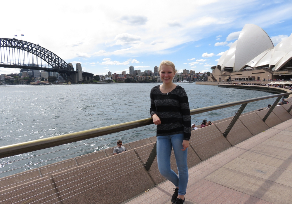 Ein halbes Jahr verbrachte die Wolfenbüttelerin Frederike Weigelt als AuPair in Canberra. Besuchte auch Sydney. Nun meldet sie sich aus der Ferne. Foto: Frederike Weigelt
