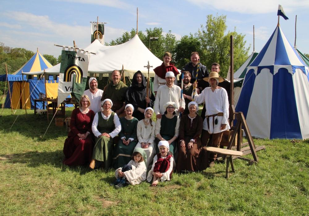 Mittelalterliches Gemeindefest bei der Christus Gemeinde Wolfenbüttel. Foto: Christus Gemeinde Wolfenbüttel