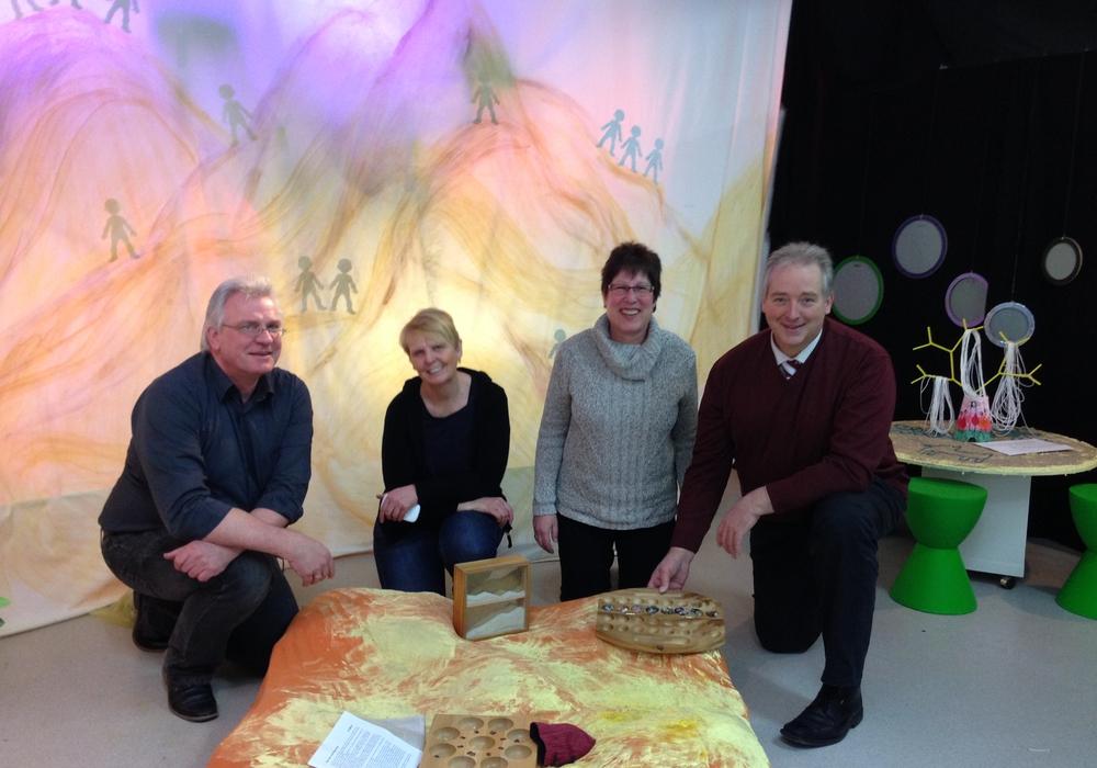 Von links: Jürgen Neuschulz, Annette Goslar, Bärbel Wöhler und Frank Oesterhelweg. Foto: Privat