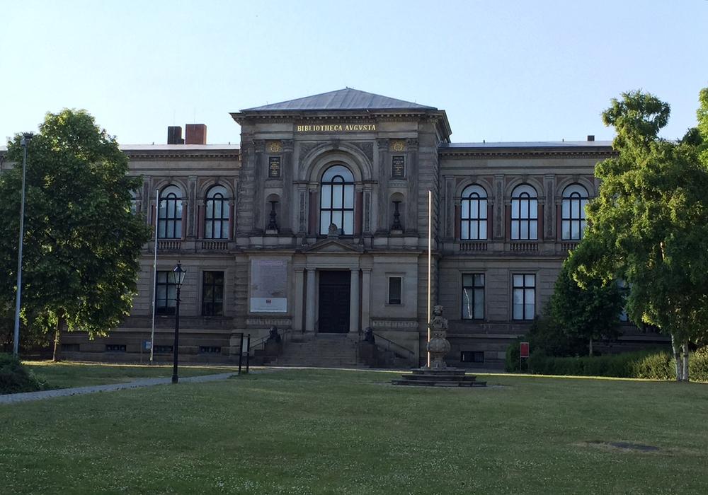 Die Herzog August Bibliothek. Foto: Archiv/Jan Borner