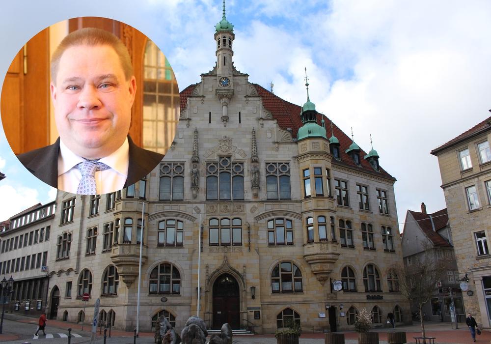 Der Bürgermeister gibt seinen Sitz im Stadtrat ab. Fotos: Christoph Böttcher/Magdalena Sydow