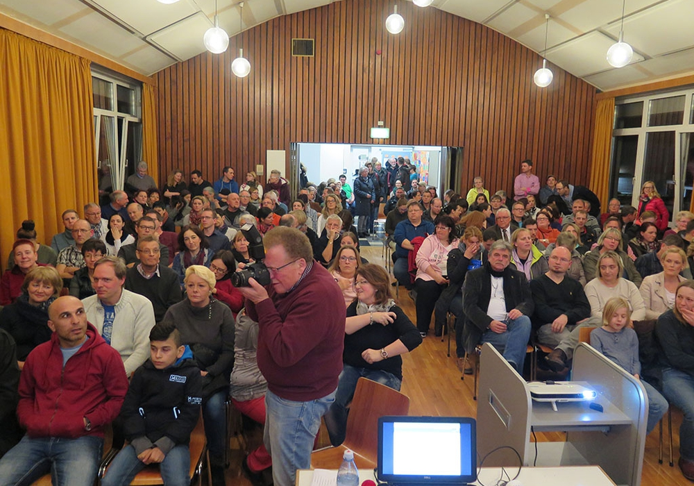 Rund 150 Teilnehmende informierten sich am 1. März in über die neue IGS Schöppenstedt. Foto: Landkreis Wolfenbüttel