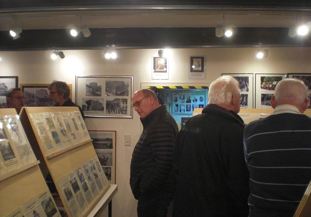 Auch die Sonderausstellung fand wieder viele Interessierte. Foto: Förderkreis Heimathaus Alte Mühle Schladen e.V.