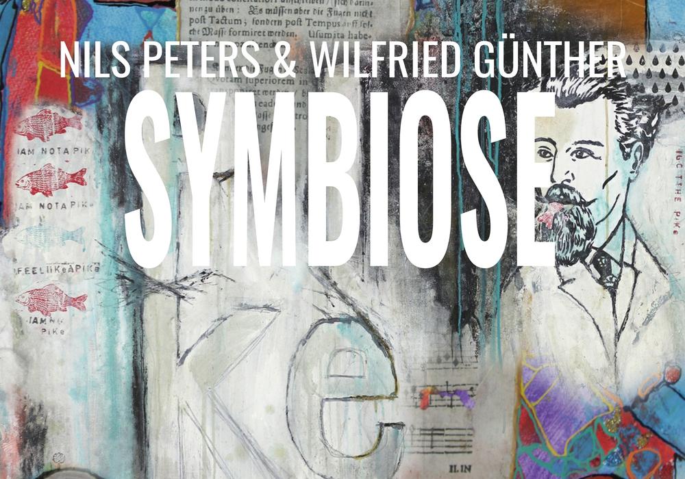 Veranstaltungscollage: Jens Bartels aus Bildern der beiden Künstler