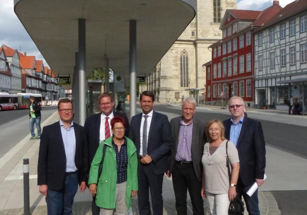 Niedersachsens Minister für Wirtschaft, Arbeit und Verkehr Olaf Lies besuchte am Montag den Landkreis Wolfenbüttel. Foto: SPD