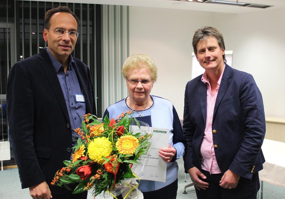 Dr. Akhil Chandra, Annemarie Kaminski und Christiane Bitter. Foto: Klinikum