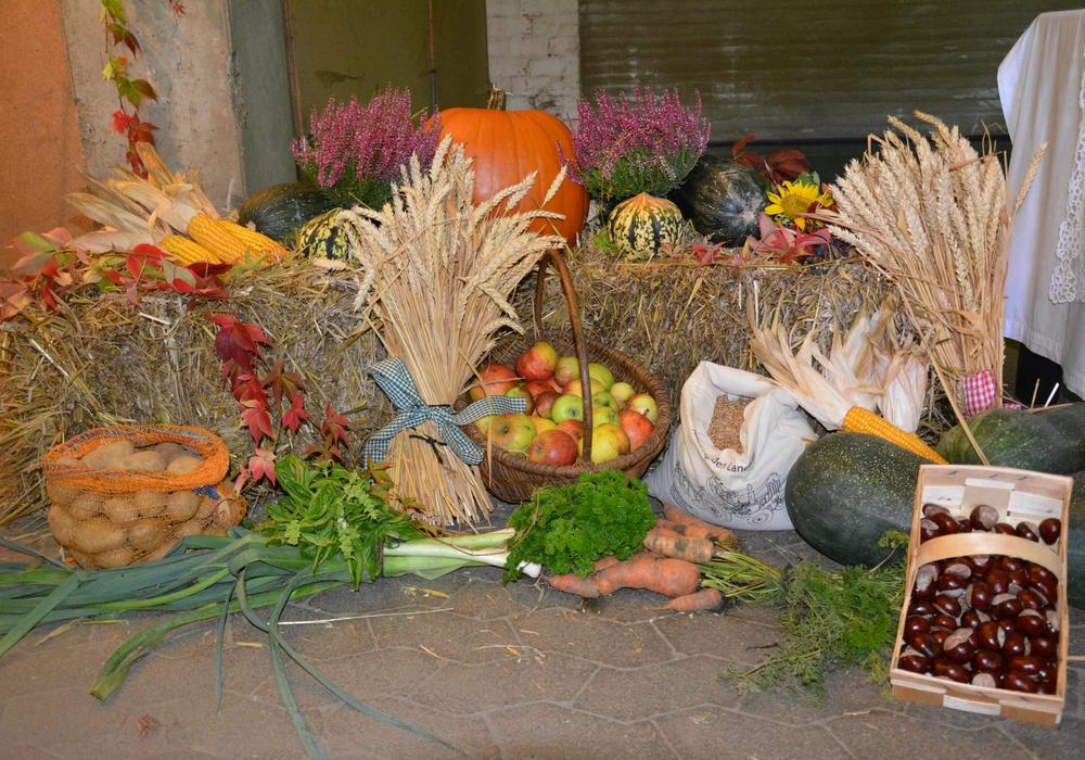 In Berkum wurde auf ganz besondere Art Erntedank gefeiert. Foto: Kirchenkreis Peine
