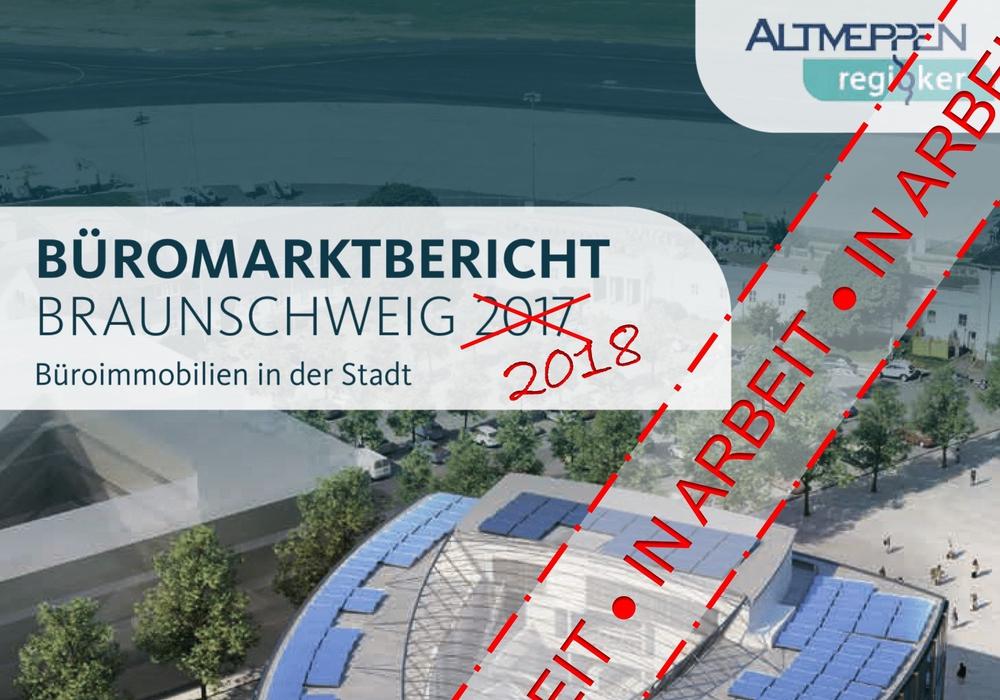 In Braunschweig startet die Datenerhebung zum  Büromarktbericht 2018. Foto: Altmeppen GmbH f