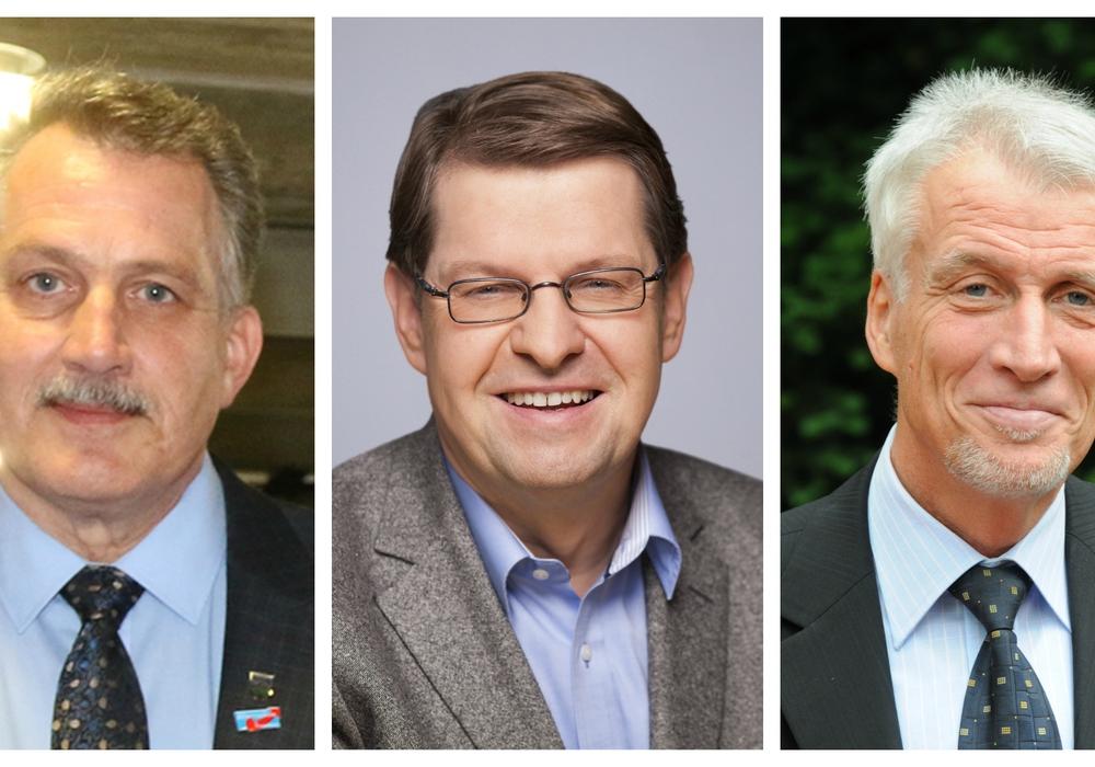 Klaus-Dieter Heid/Ralf Stegner/Ralf Achilles. Fotos: Werner Heise/SPD/SPD