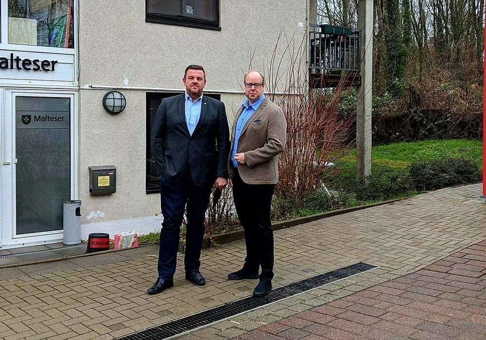 Besuch der Malteser-Rettungswache in Wendhausen. Foto: Gemeinde Lehre