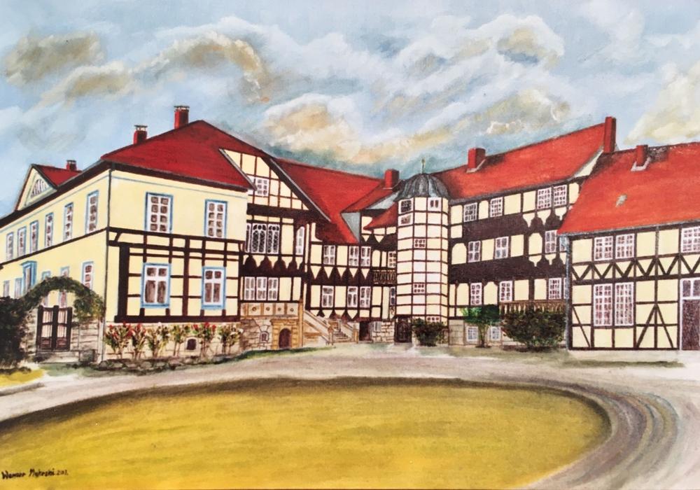 Schloss Walmoden. Foto: Werner Mokrski