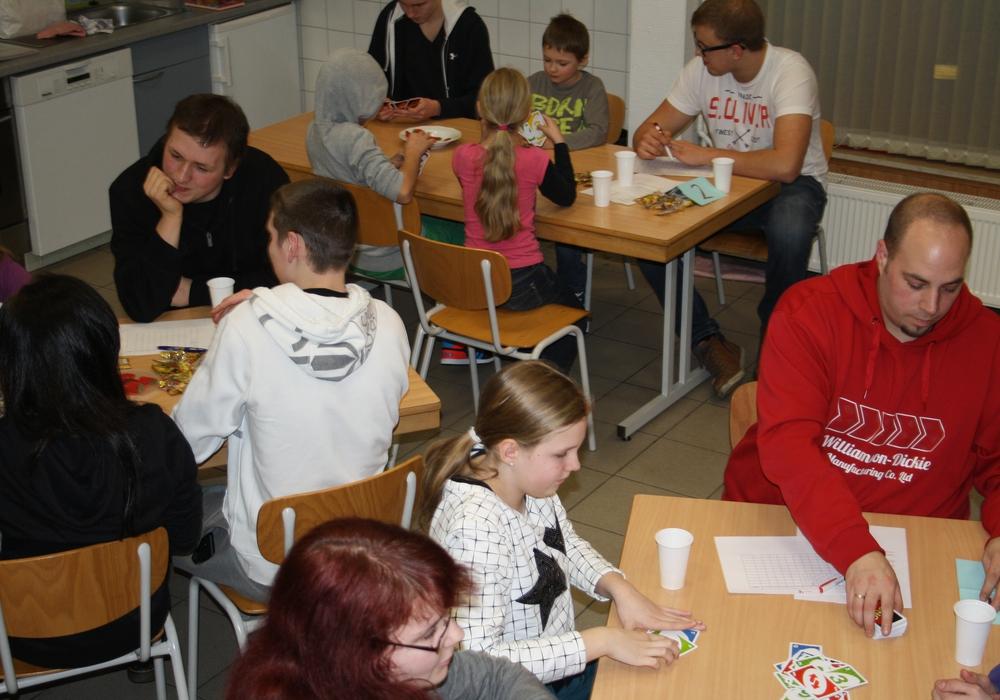 Uno-Turnier der Jugendfeuerwehr. Foto: Privat