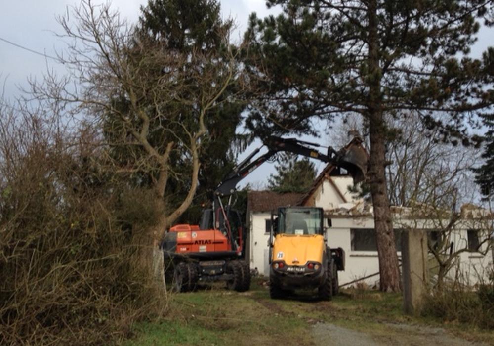 Laut BIBS-Fration stellen die Abbrucharbeiten im Holzmoor eine Straftat dar. Foto: BIBS