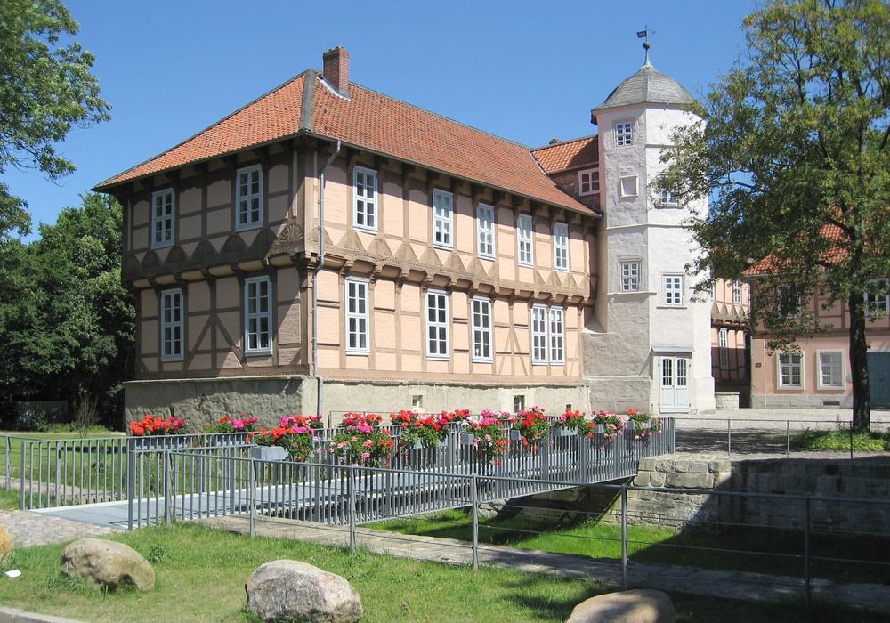 Das Hoffmann-von-Fallersleben-Museum im Schloss Fallersleben. Foto: Hoffmann-von-Fallersleben-Museum