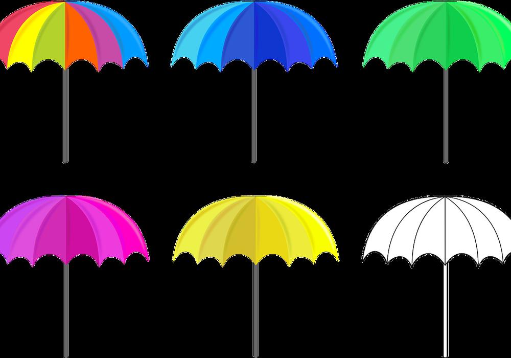 Kundgebungsteilnehmer sollen bunte Regenschirme mitbringen und aufspannen. Symbolfoto: Pixabay