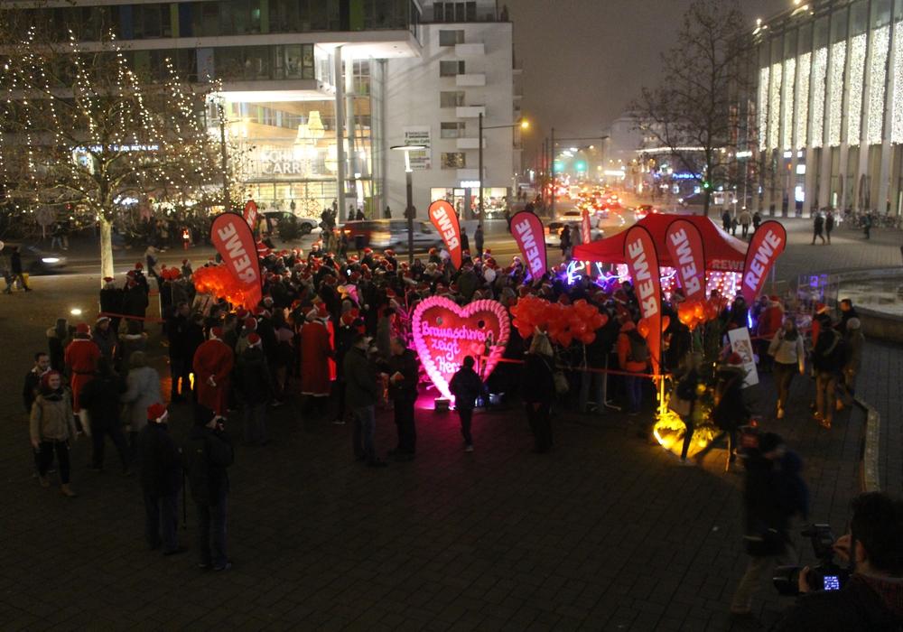 Braunschweiger sangen für den guten Zweck. Foto: Bernd Dukiewitz