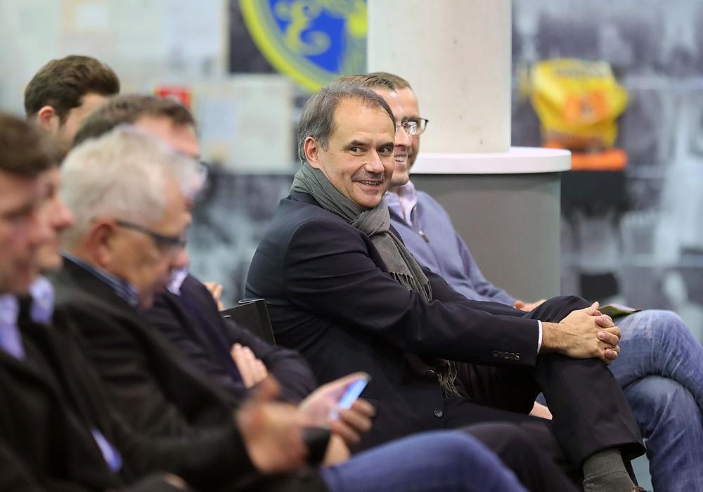 Oberbürgermeister Urlich Markurth bei der Jahreshauptversammlung 2017. Foto: Agentur Hübner