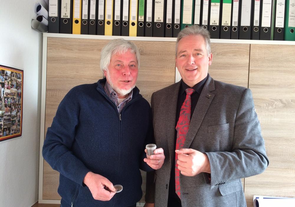 Reinhard Voges (li.) und Frank Oesterhelweg. Foto: CDU