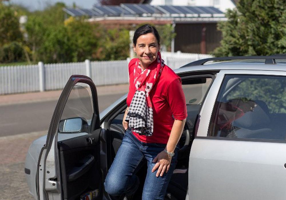 Veronika Koch kurz nach der Rückkehr in Grasleben. Foto: CDU