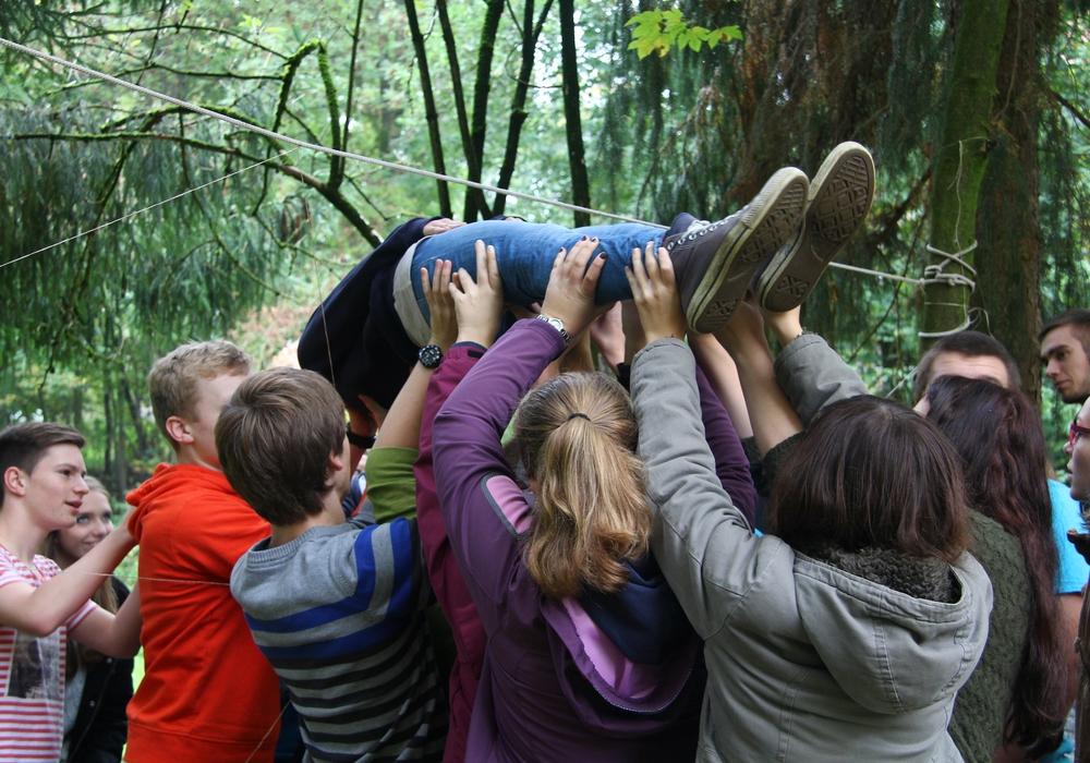 Auf dem JuLeiCa-Kurs der Ev. Jugend wird vor allem durch Erfahrungen gelernt. Foto: Ev. Jugend Wolfenbüttel