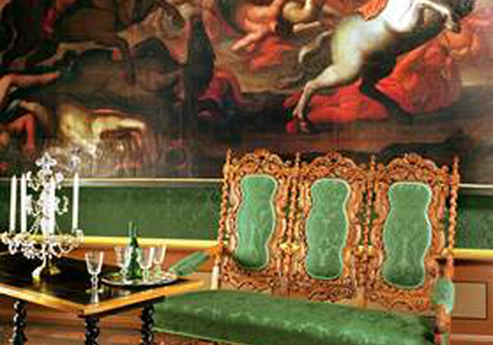 Führung durch die historischen Schlossräume, Herzogappartement, Antichambre. Foto: Privat