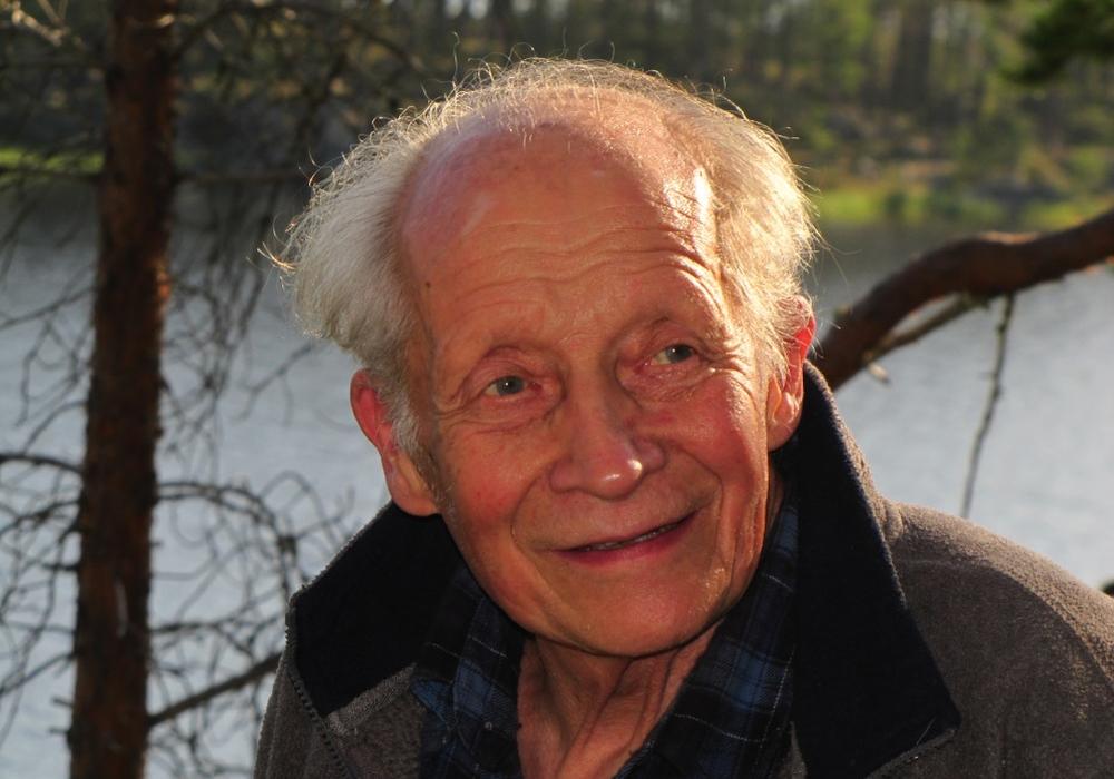 Harald Helander, bekannter Naturschützer Finnlands. Foto: Harald Helander