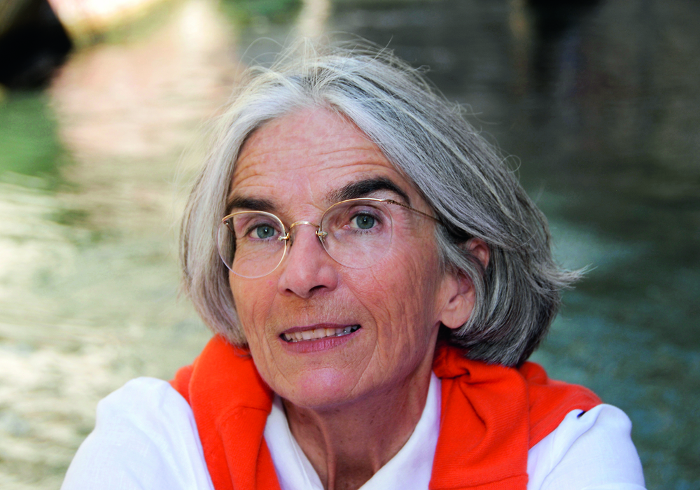 Donna Leon kommt nach Wolfenbüttel. Foto: Regine Mosimann/Diogenes Verlag