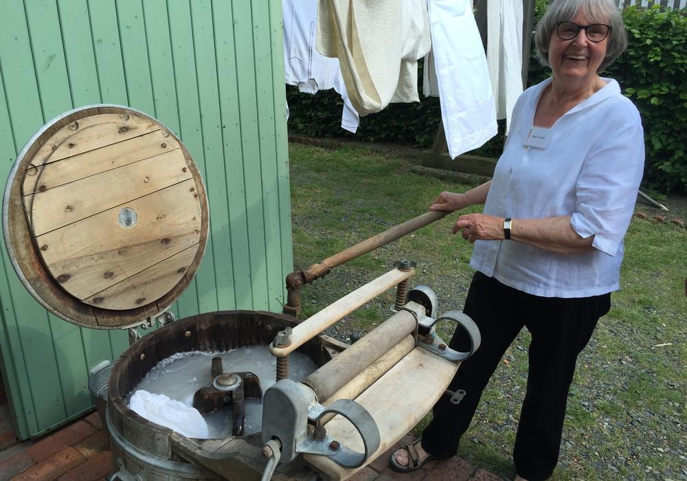 Das Gärtnermuseum ist am Sonntag geöffnet. Es wird die Sonderausstellung zur Geschichte des Wäschewaschens gezeigt. Foto: Anke Donner