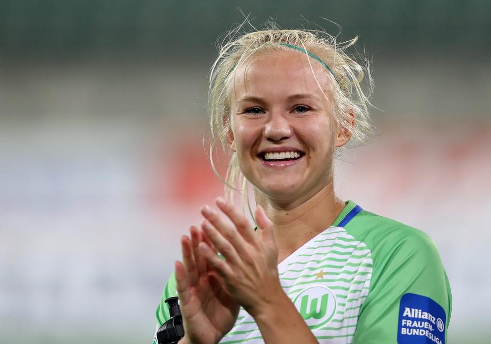 Pernille Harder verlässt den VfL. Archivbild
