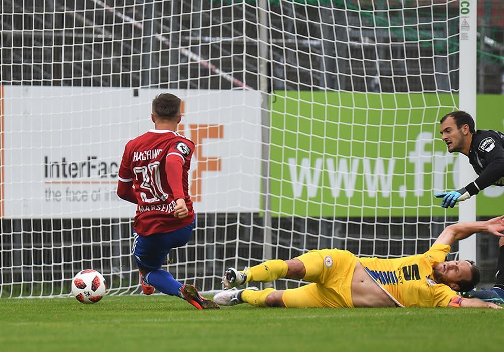 Keine Chance! Stephan Fürstner und Eintracht Braunschweig verlieren verdient in Haching. Foto: Sven Leifer / Täger