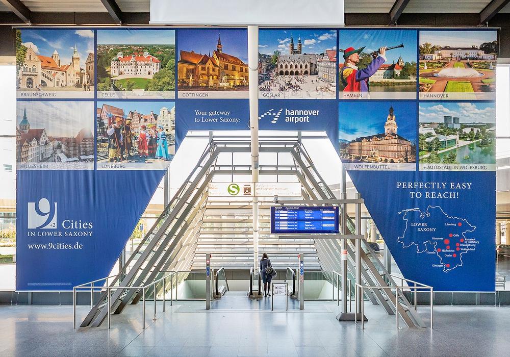 Ein beeindruckender Anblick: Sehenswürdigkeiten der Region machen Besucher neugierig auf die Städte - und die sind vom Flughafen in Hannover aus gut erreichbar. Foto: 9 Städte + 2 in Niedersachsen