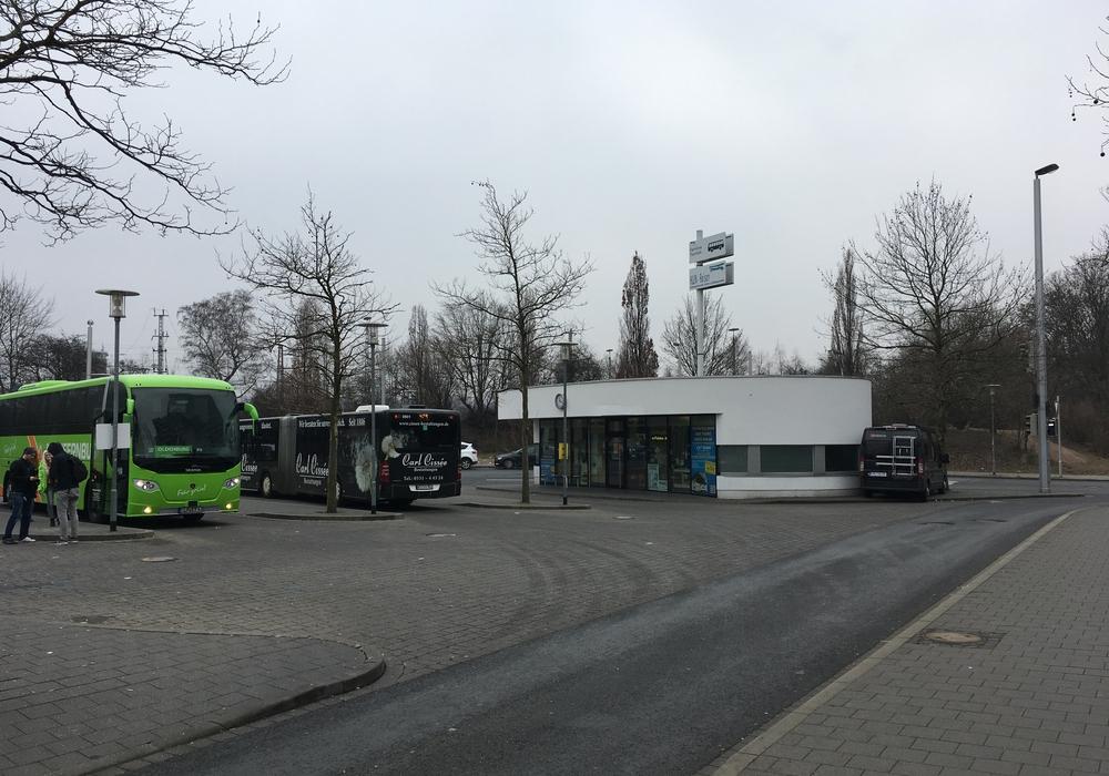 Am Fernbusbahnhof wird demnächst gebaut. Foto: Archiv/Alexander Dontscheff