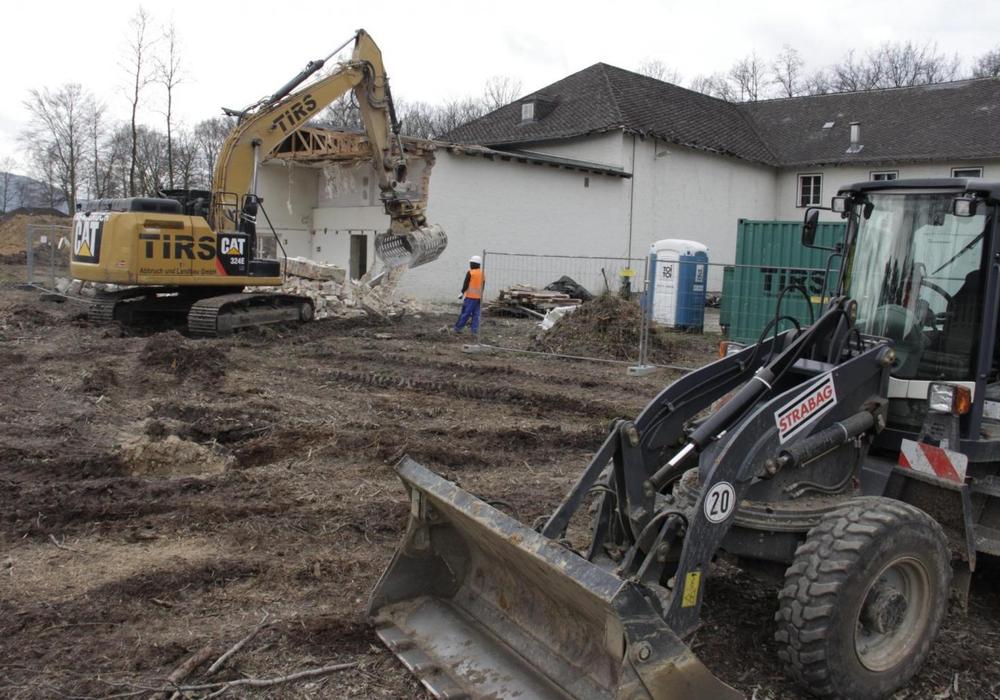 Das Offizierscasino wird abgerissen. Foto: Kristina Weidelhofer, Klosterkammer Hannover