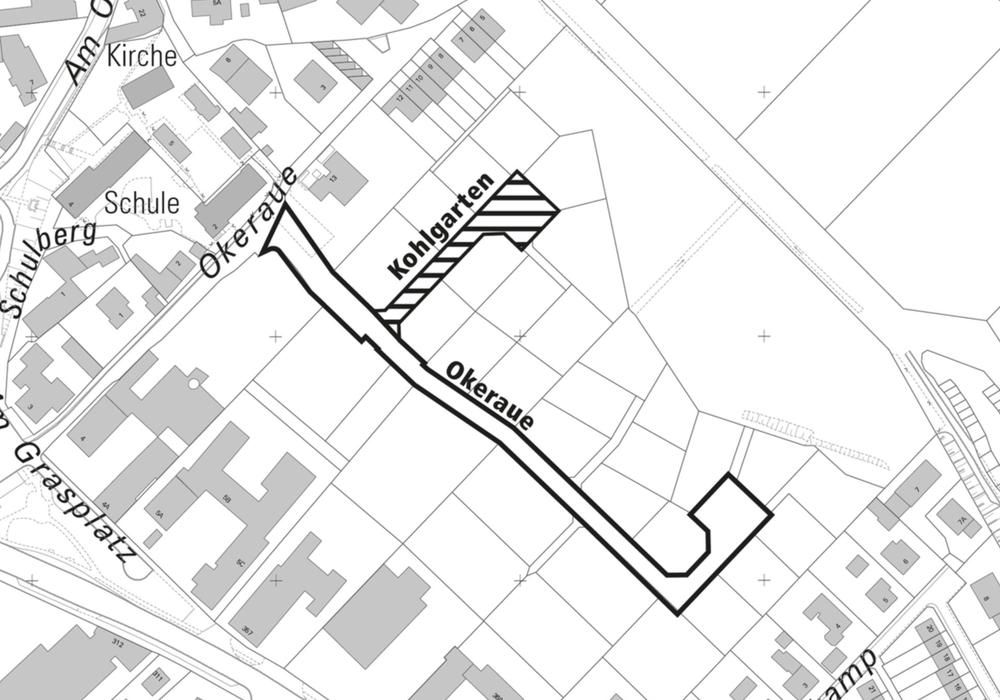 Die Benennung der geplanten Erschließung unterstütze die Einhaltung der Sicherung einer einfachen und eindeutigen Orientierung sowie die Aufrechterhaltung der Sicherheit und Ordnung, beispielsweise bei Einsätzen von Rettungsfahrzeugen. Foto: Stadt Braunschweig