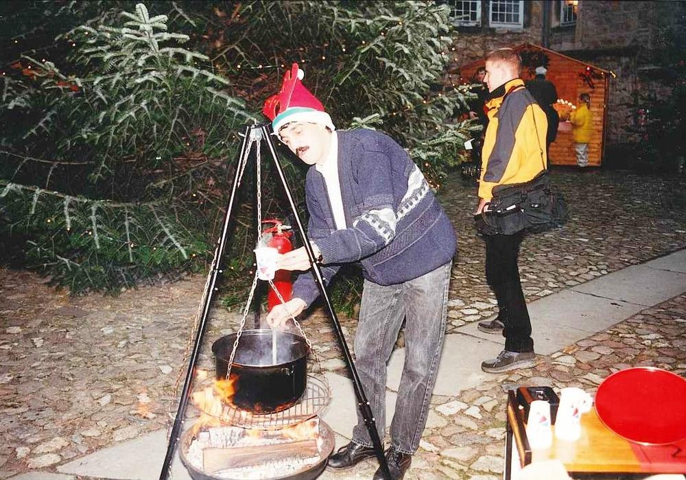 Advent im Schloss 1998. Foto: Stadt Wolfsburg