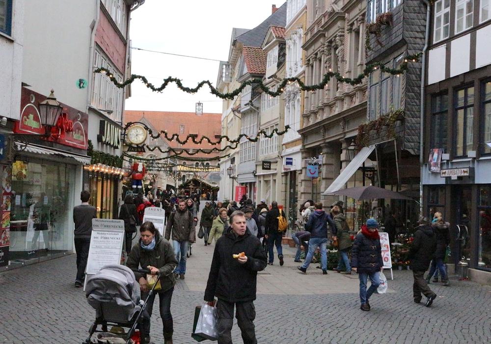 Kein Ladenöffnung an Heiligabend, sagt die CDA Braunschweig. Foto:  Sina Rühland