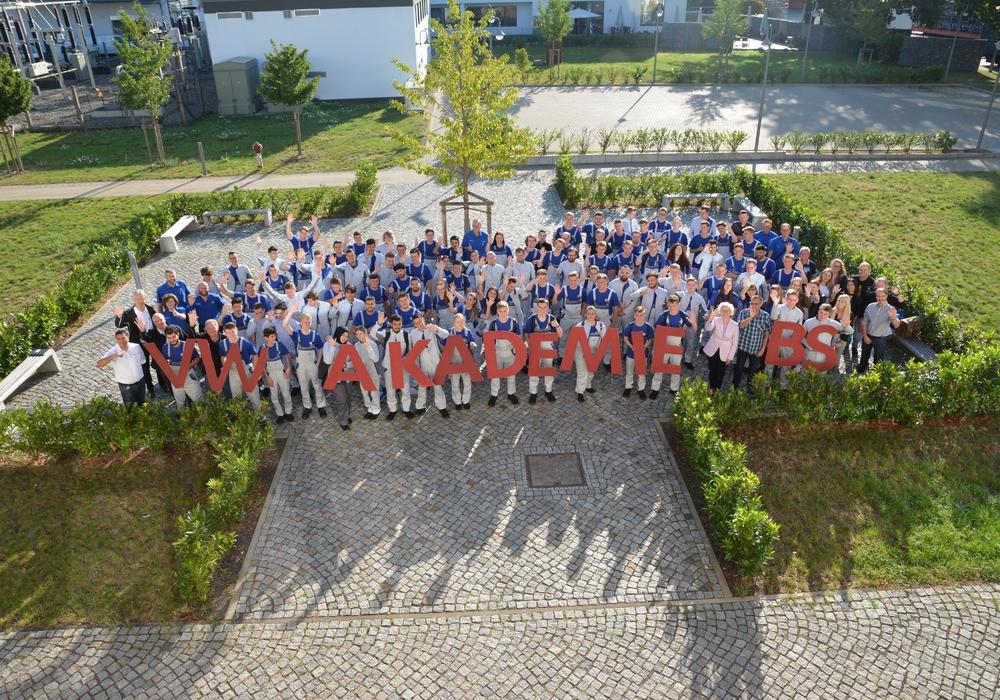 112 junge Menschen starteten in Ihre Ausbildung in Braunschweig. Foto: VW Braunschweig