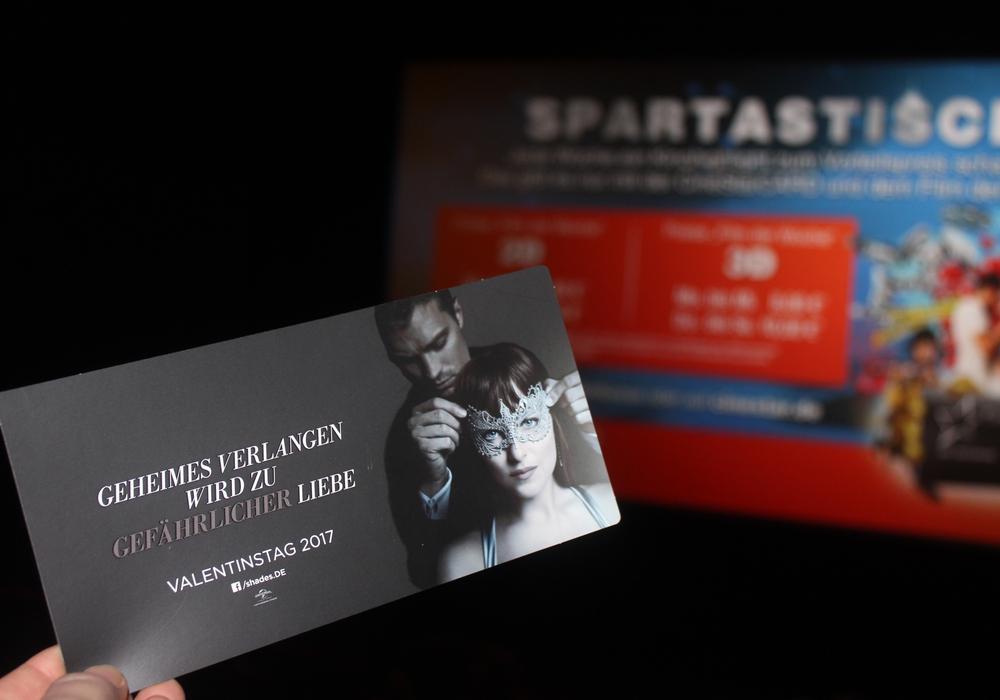 Wir waren im Kino und haben und den zweiten Teil von Fifty Shades of Grey angeschaut. Foto: Anke Donner