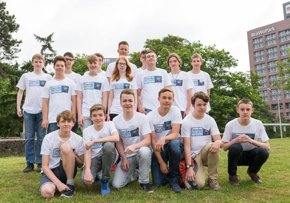 Die Finalisten des Diercke WISSEN Geographie-Wettbewerbs. Foto: Max Heise