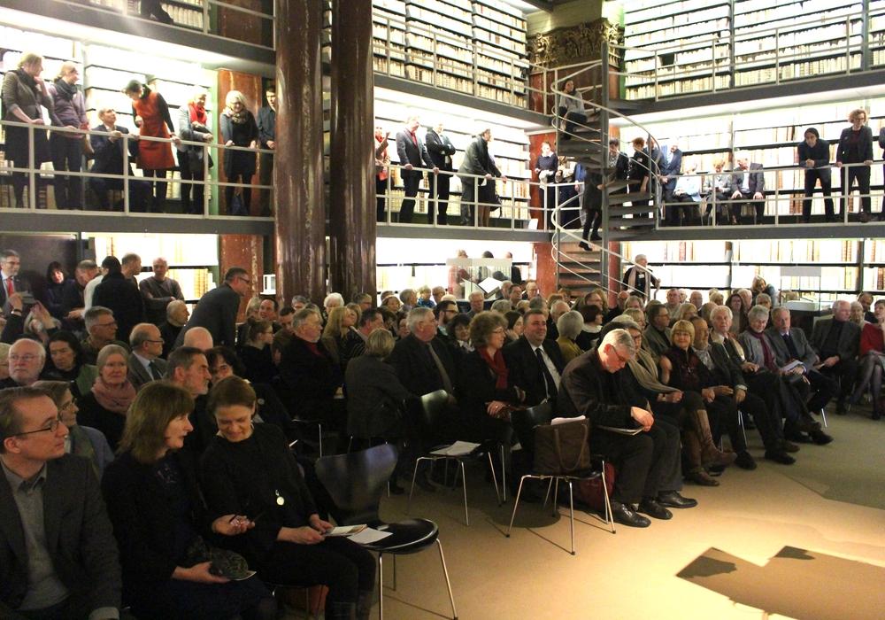 Das Interesse an der Luthermania-Auftaktveranstaltung war groß. Fotos: Dontscheff